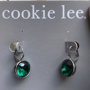 Gorgeous Cookie Lee Genuine Crystal Earrings